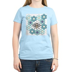 Honeybee & Flowers Women's Light T-Shirt