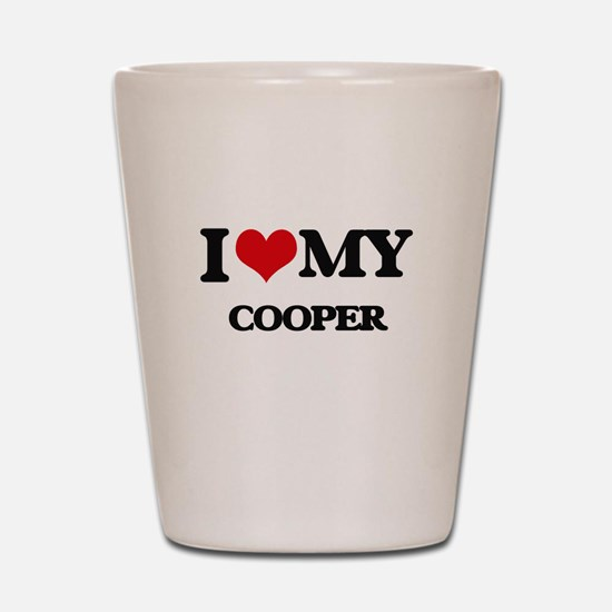 I love my Cooper Shot Glass