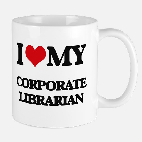 I love my Corporate Librarian Mugs