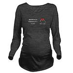 Christmas Love Long Sleeve Maternity T-Shirt