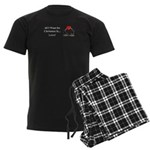 Christmas Love Men's Dark Pajamas