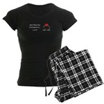 Christmas Love Women's Dark Pajamas