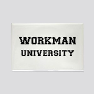 WORKMAN UNIVERSITY Rectangle Magnet