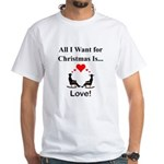 Christmas Love White T-Shirt
