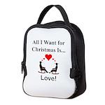Christmas Love Neoprene Lunch Bag