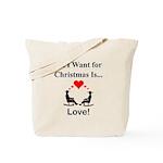Christmas Love Tote Bag