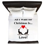 Christmas Love King Duvet