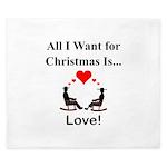 Christmas Love King Duvet