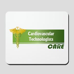 Cardiovascular Technologists Care Mousepad