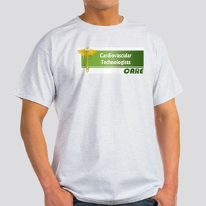 Cardiovascular Technologists Care Light T-Shirt