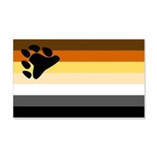Bear Flag Wall Decal