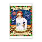 Lady Aries Mini Poster Print