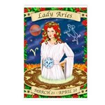 Lady Aries Postcards (Package of 8)