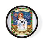 Lady Aries Wall Clock