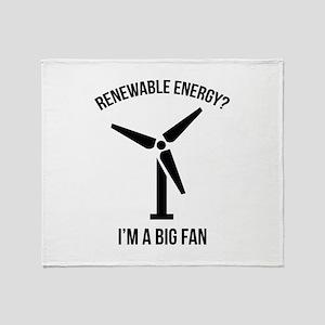 Renewable Energy Stadium Blanket
