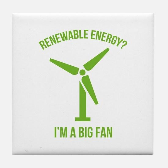 Renewable Energy Tile Coaster