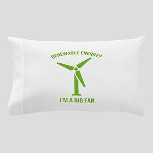 Renewable Energy Pillow Case