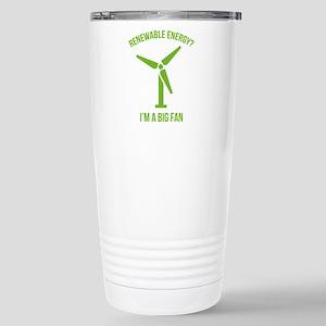 Renewable Energy Ceramic Travel Mug
