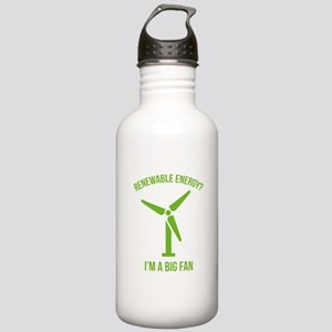 Renewable Energy Stainless Water Bottle 1.0L
