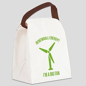 Renewable Energy Canvas Lunch Bag