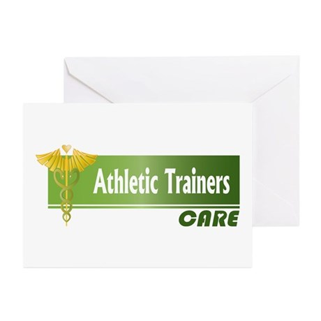 Athletic Trainers Care Greeting Cards (Package of