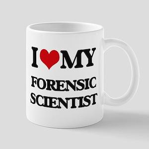 I love my Forensic Scientist Mugs