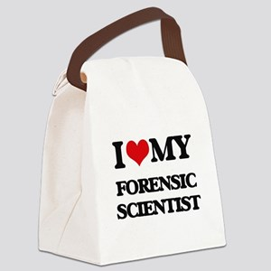 I love my Forensic Scientist Canvas Lunch Bag