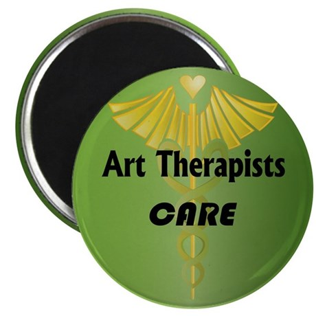 Art Therapists Care Magnet