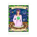 Lady Taurus Mini Poster Print