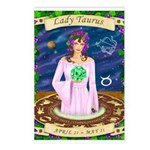 Lady Taurus Postcards (Package of 8)