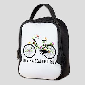 Life is a beautiful ride Neoprene Lunch Bag