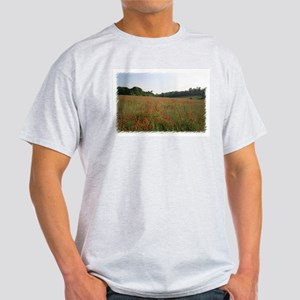Strolling Among Poppies Light T-Shirt