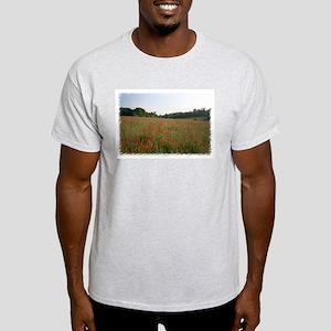 Strolling Among Poppies Light T-Shirt