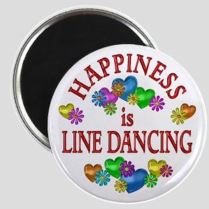Happiness is Line Dancing Magnet