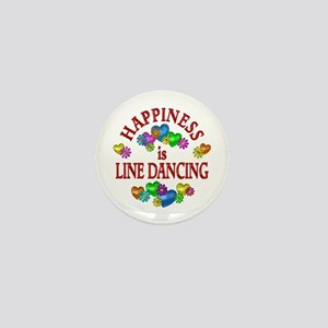 Happiness is Line Dancing Mini Button