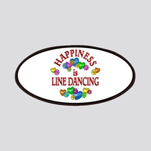 Happiness is Line Dancing Patches