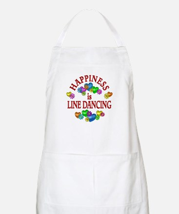 Happiness is Line Dancing Apron