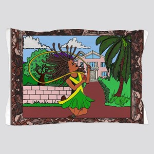 Jamaican Girl Pillow Case