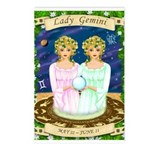 Lady Gemini Postcards (Package of 8)