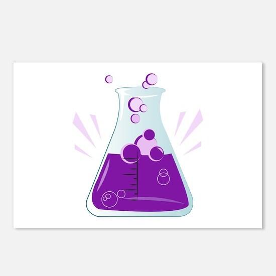 Chemistry Beaker Postcards (Package of 8)