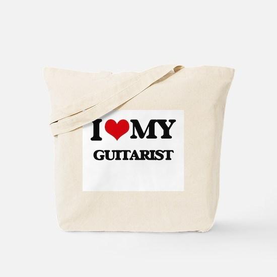 I love my Guitarist Tote Bag