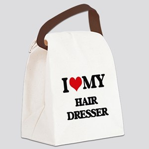 I love my Hair Dresser Canvas Lunch Bag