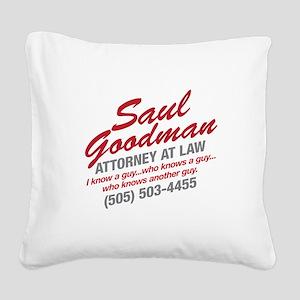 Breaking Bad - Saul Goodman Square Canvas Pillow