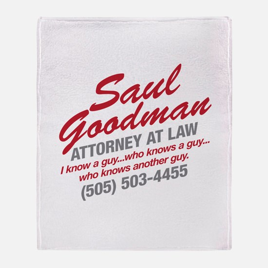 Breaking Bad - Saul Goodman Throw Blanket