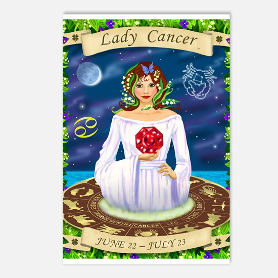 Lady Cancer Postcards (Package of 8)