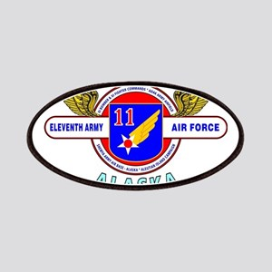11TH ARMY AIR FORCE WORLD WAR II Patches