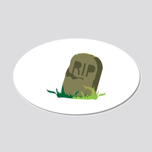 RIP Tombstone Wall Decal