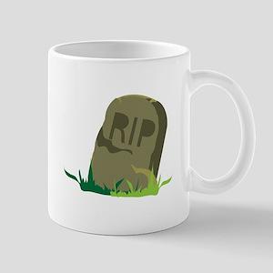 RIP Tombstone Mugs