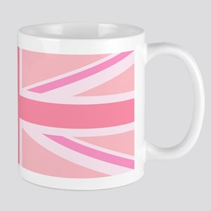 Pink Union Jack/Flag Mugs
