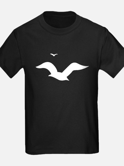 Seagulls Silhouette T-Shirt